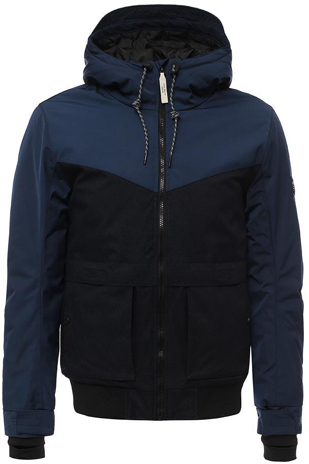 Куртка мужская Tom Tailor, цвет: синий. 3555026.00.12_6576. Размер L (50) футболка мужская tom tailor цвет бордовый 1038245 09 12 4257 размер l 50