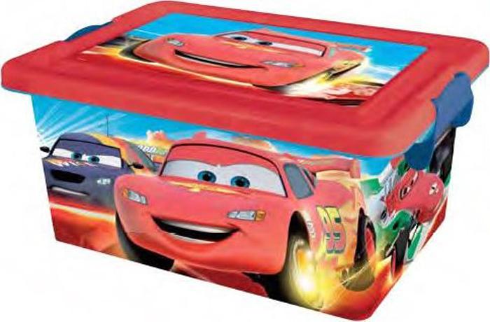Disney Cars Ящик для хранения Disney Cars 7 л4554Детский ящик Disney Cars(Тачки) выполнен высококачественного безопасного пластика, предназначен для хранения различных предметов. Ящик декорирован аппликациями из мультфильма Disney Cars(Тачки). Высокое качество изображений, насыщенность красок достигается благодаря высоким технологиям нанесения изображения любимых персонажей на материал. (Никаких наклеек!!!). Вместительный ящик закрывается при помощи крышки с крепкими защелками с обеих сторон, которые не допускают случайного открывания. В крышке имеется ручка, благодаря которой ящик можно без проблем переносить с места на место. Ручка прячется в крышке, что дает возможность размещать сверху другие ящики. Товар изготовлен по лицензии Disney, произведен в Испании. Остерегайтесь подделок!