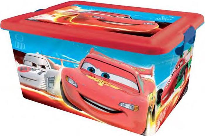Disney Cars Ящик для хранения Disney Cars 23 л4556Детский ящик Disney Cars(Тачки) выполнен высококачественного безопасного пластика, предназначен для хранения различных предметов. Ящик декорирован аппликациями из мультфильма Disney Cars(Тачки). Высокое качество изображений, насыщенность красок достигается благодаря высоким технологиям нанесения изображения любимых персонажей на материал. (Никаких наклеек!!!). Вместительный ящик закрывается при помощи крышки с крепкими защелками с обеих сторон, которые не допускают случайного открывания. В крышке имеется ручка, благодаря которой ящик можно без проблем переносить с места на место. Ручка прячется в крышке, что дает возможность размещать сверху другие ящики. Товар изготовлен по лицензии Disney, произведен в Испании. Остерегайтесь подделок!
