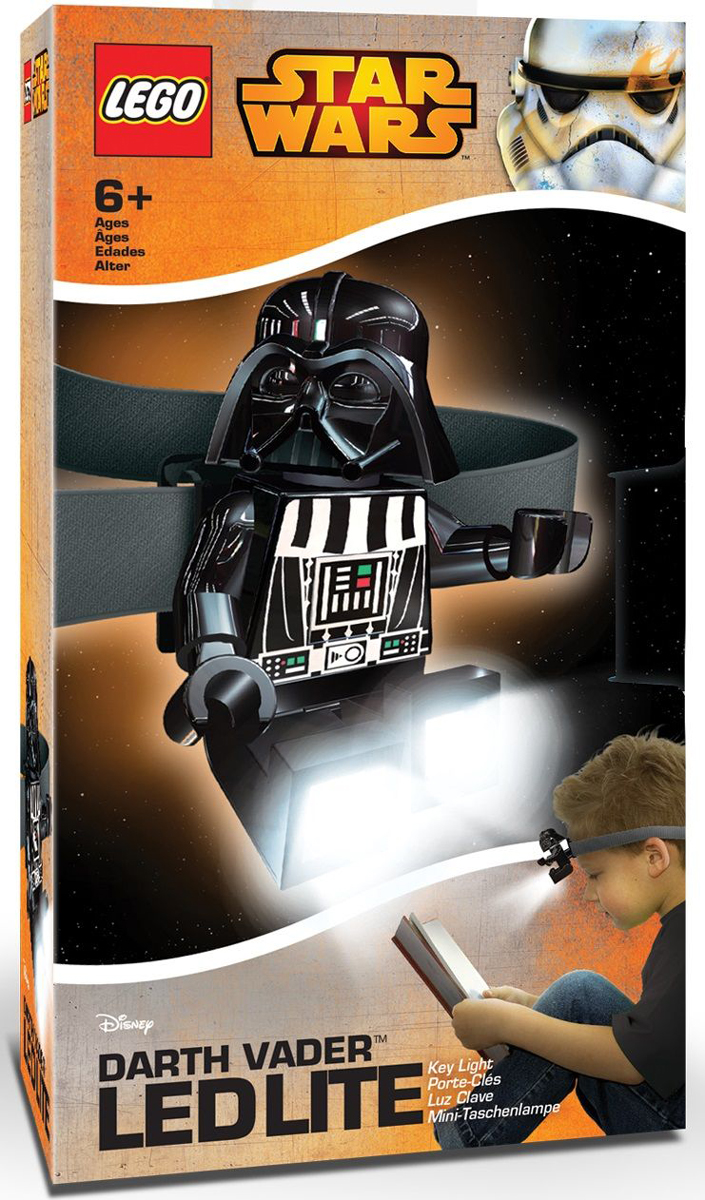 LEGO Star Wars Налобный фонарь Darth Vader, IQ Hong Kong Limited