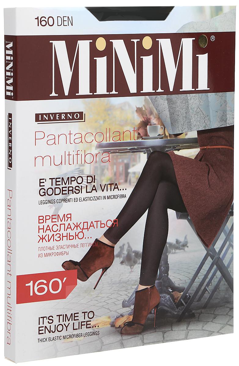 Леггинсы жен Minimi Pantacollant Multifibra 160, цвет: Nero (черный). SNL-377335. Размер 2/3 (S/M)SNL-377335