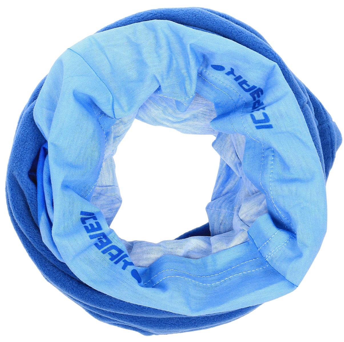 Шарф мужской Icepeak, цвет: синий, голубой. 858905822IV-345. Размер универсальный858905822IV-345