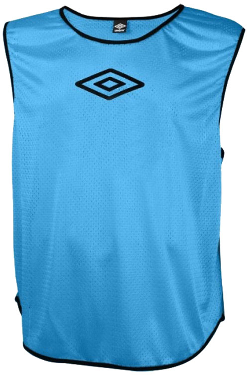Манишка футбольная для мальчика Umbro Training Bib, цвет: синий. 231910. Размер универсальный