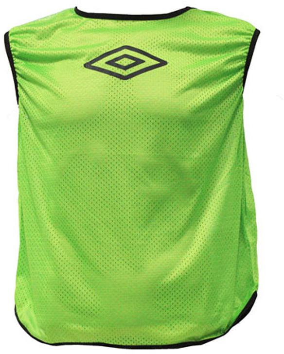 все цены на Манишка футбольная для мальчика Umbro Training Bib, цвет: зеленый. 231910. Размер универсальный онлайн