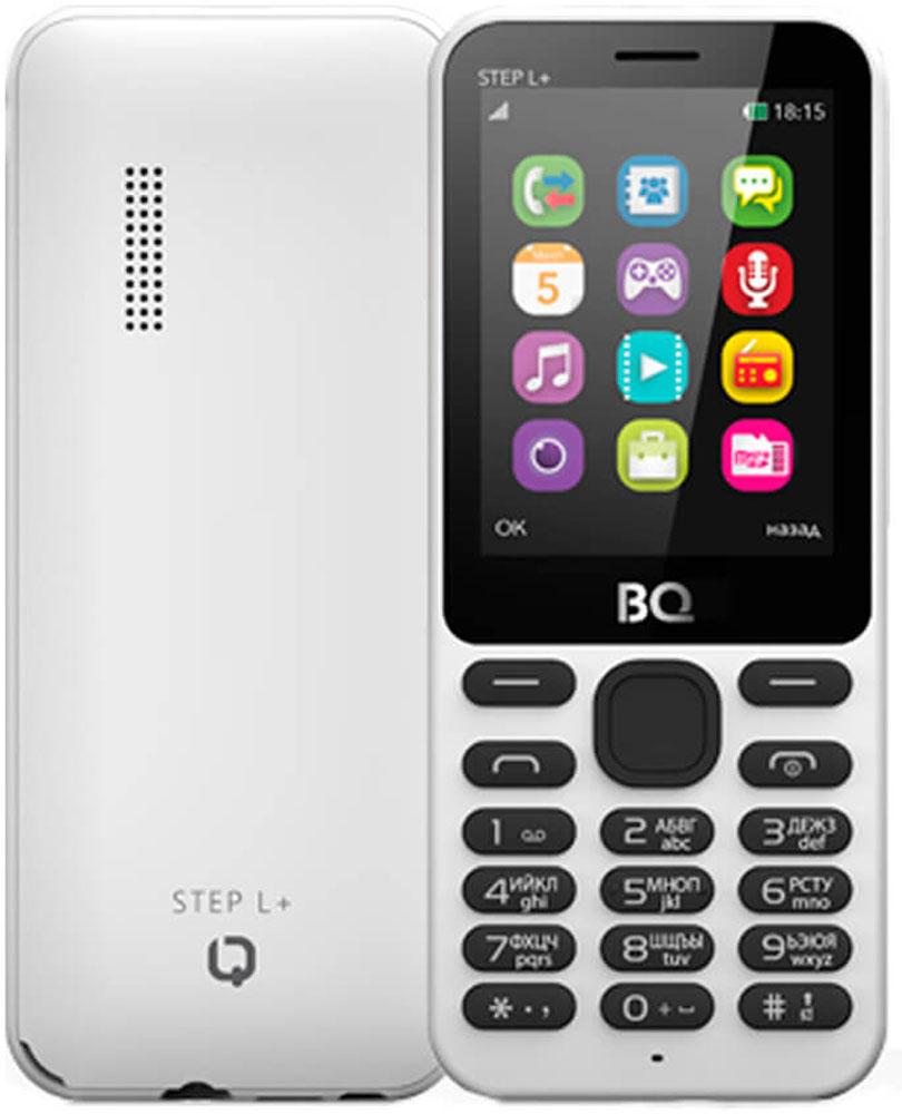 BQ 2431 Step L+, White - Мобильные телефоны