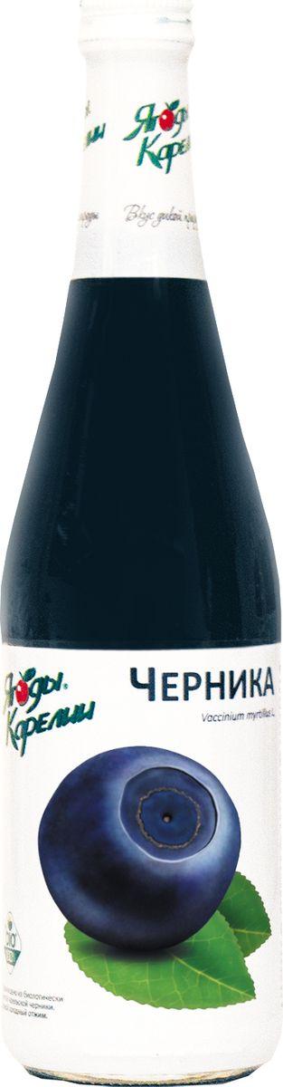Ягоды Карелии нектар черничный с мякотью, 0,51 л ягоды карелии нектар черноплоднорябиновый с мякотью 0 51 л