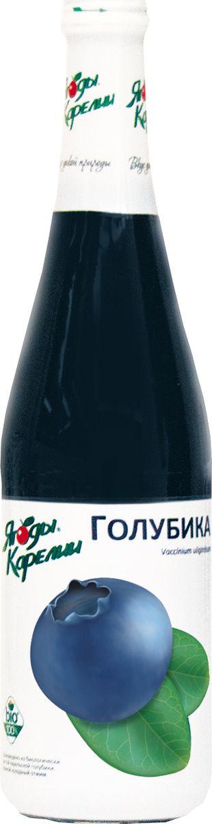 Ягоды Карелии нектар голубичный с мякотью, 0,51 л ягоды карелии черная смородина протертая с сахаром 280 г
