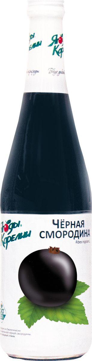 Ягоды Карелии нектар черносмородиновый с мякотью, 0,51 л ягоды карелии клюква протертая с сахаром 280 г
