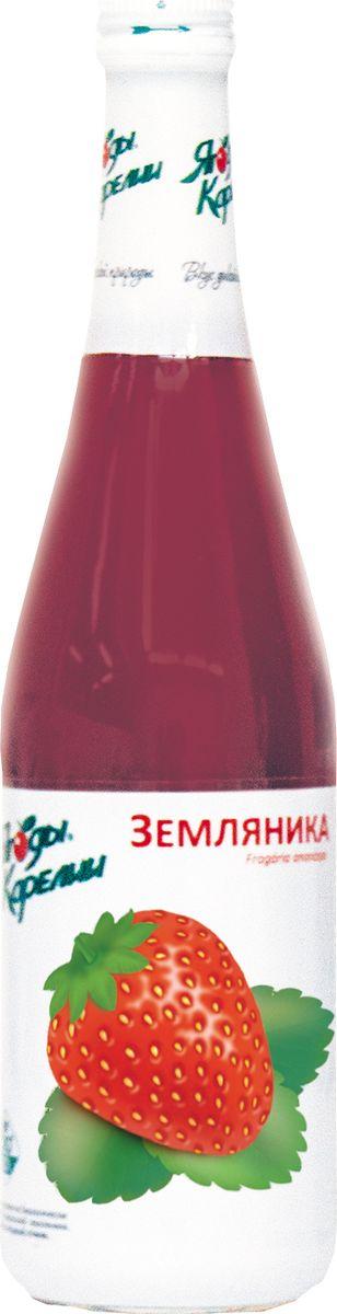 Ягоды Карелии нектар земляничный с мякотью, 0,51 л ягоды карелии нектар черносмородиновый с мякотью 0 51 л