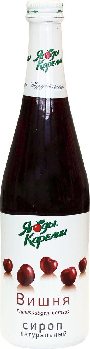 Ягоды Карелии сироп вишневый с мякотью, 0,51 л витамины solgar кальций магний цинк 100 таблеток