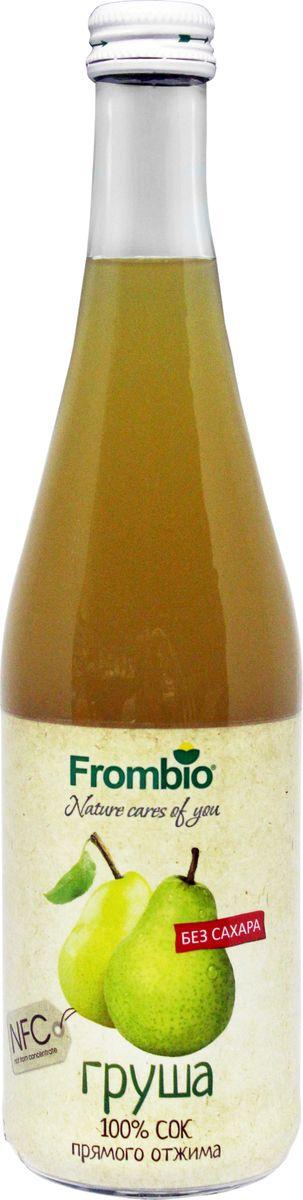 Frombio сок грушевый 100% прямого отжима, 0,51 лСУХ020ГРУШЕВЫЙ СОК 100% Frombio - настоящее финское качество и потрясающий вкус! сок Frombio используют для приготовления:— соусов для блюд— молочных коктейлей, мороженого, чая, кофе— алкогольных и безалкогольных коктейлей— выпечки: