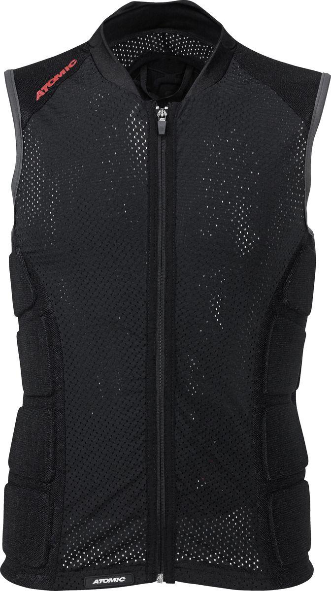 Защита спины Atomic Live Shield Vest Men, цвет: черный. Размер S (46)AN5201500Хорошая защита спины не должна ощущаться при движениях и быть незаметной, именно таков жилет Atomic Live Shield Vest Men. Он состоит из отдельных панелей, сделанных из очень прочного вспененного материала, которые формируют уникальный защитный панцирь, при этом адаптируются к вашим движениям, так что вы не ощущаете скованности. Специальные циркуляционные каналы выводят наружу влагу и излишки тепла. Жилет Live Shield Vest Men соответствует всем требованиям самой жесткой системы сертификации EU к защите (EN 1621-2, Level 1).