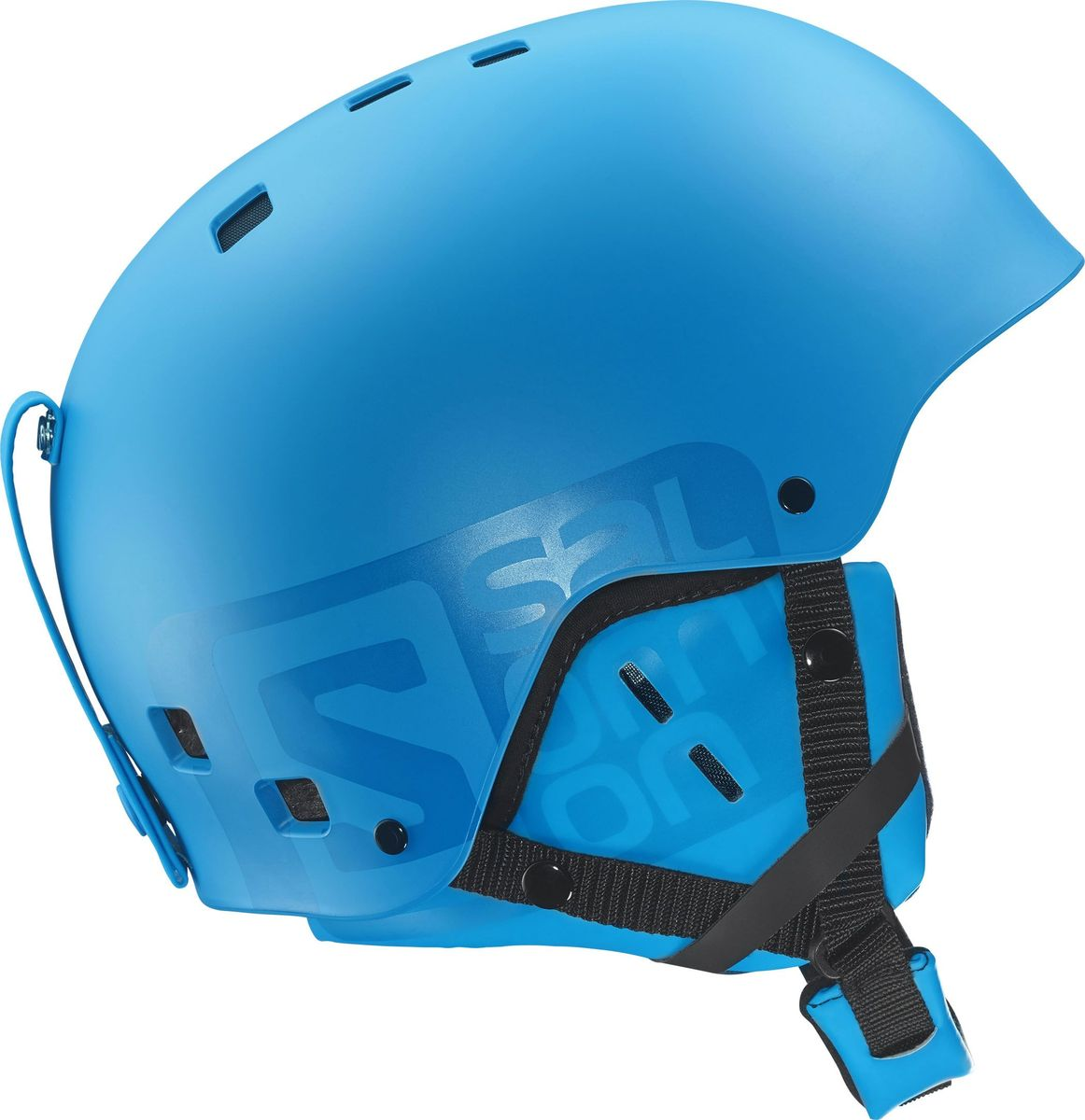 Шлем зимний Salomon  Helmet Brigade Blue Matt . Размер L (58/59) - Горные лыжи