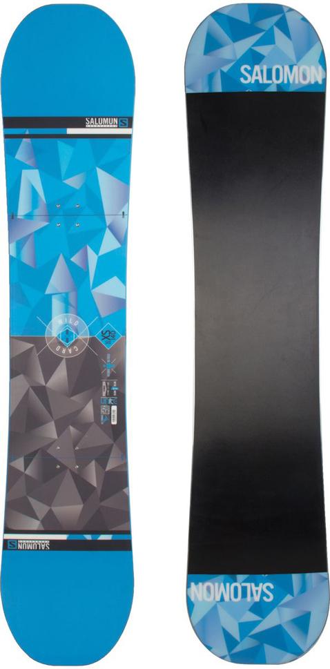 Сноуборд Salomon Wild Card, 140 см. L39185300L39185300Сноуборд Salomon Wild Card с профилем Flat Out Camber идеально подходит для начинающих сноубордистов и прощает многие ошибки новичков. Подходит для катания в стиле фрирайд, но может быть и качественным универсальным бордом по обстоятельствам. Проверенные временем технологии Salomon делают эту доску идеальной для любой поверхности. Деревянный сердечник доски обернут в стекловолокно. Жесткость: 6/10. Прогиб: Rocker (обратный). Рекомендован на вес: от 40 до 60 кг. Крепления: 510 мм.