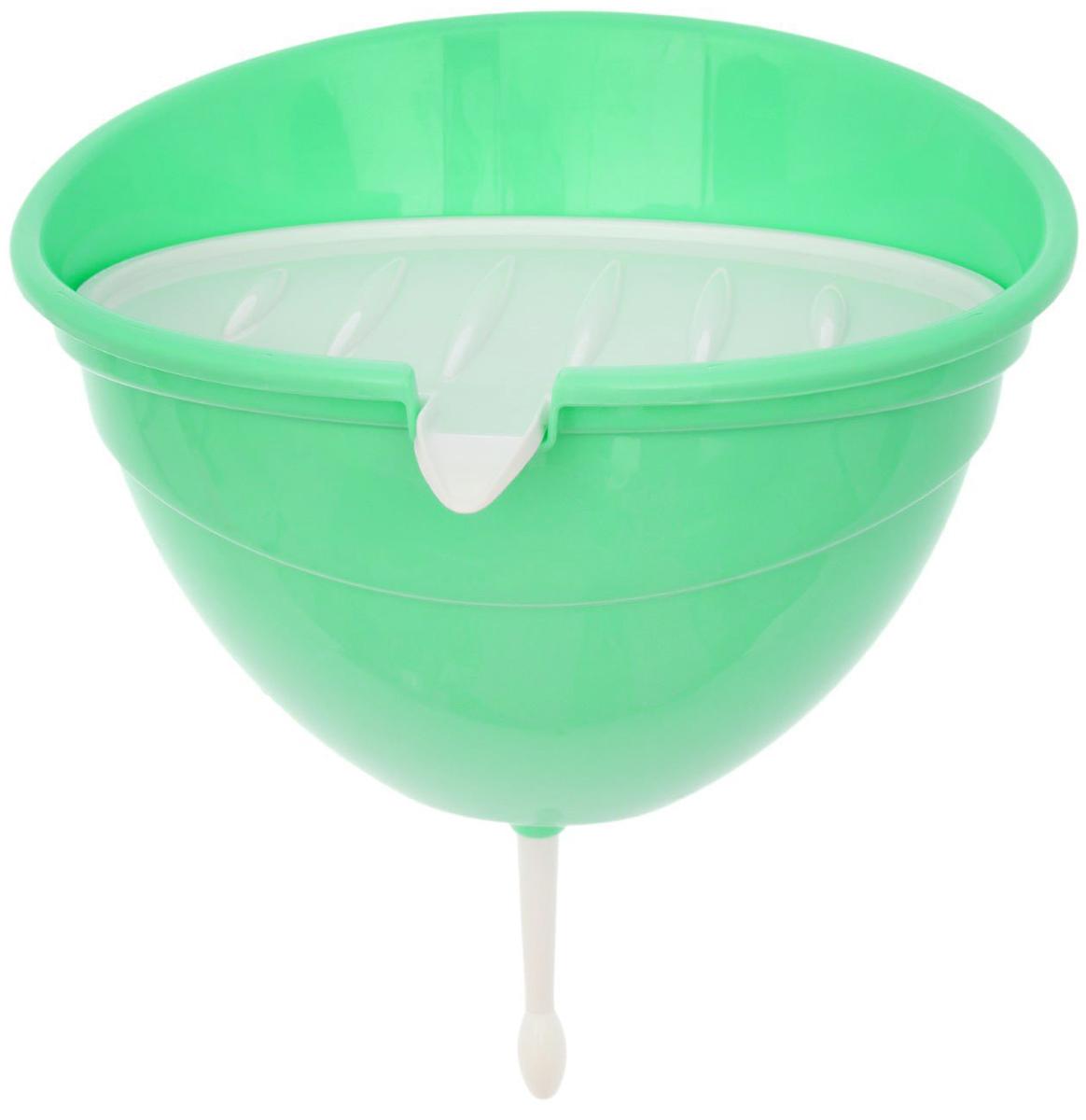"""Рукомойник """"InGreen"""" оригинальной формы поможет вам поддерживать чистоту рук на вашем дачном участке. Крышка плотно прилегает к рукомойнику, что препятствует попаданию грязи и пыли в воду. Крышку рукомойника можно использовать как мыльницу.  В комплекте с товаром поставляются все необходимые дюбеля и шурупы для надежного крепления рукомойника в удобном для вас месте."""