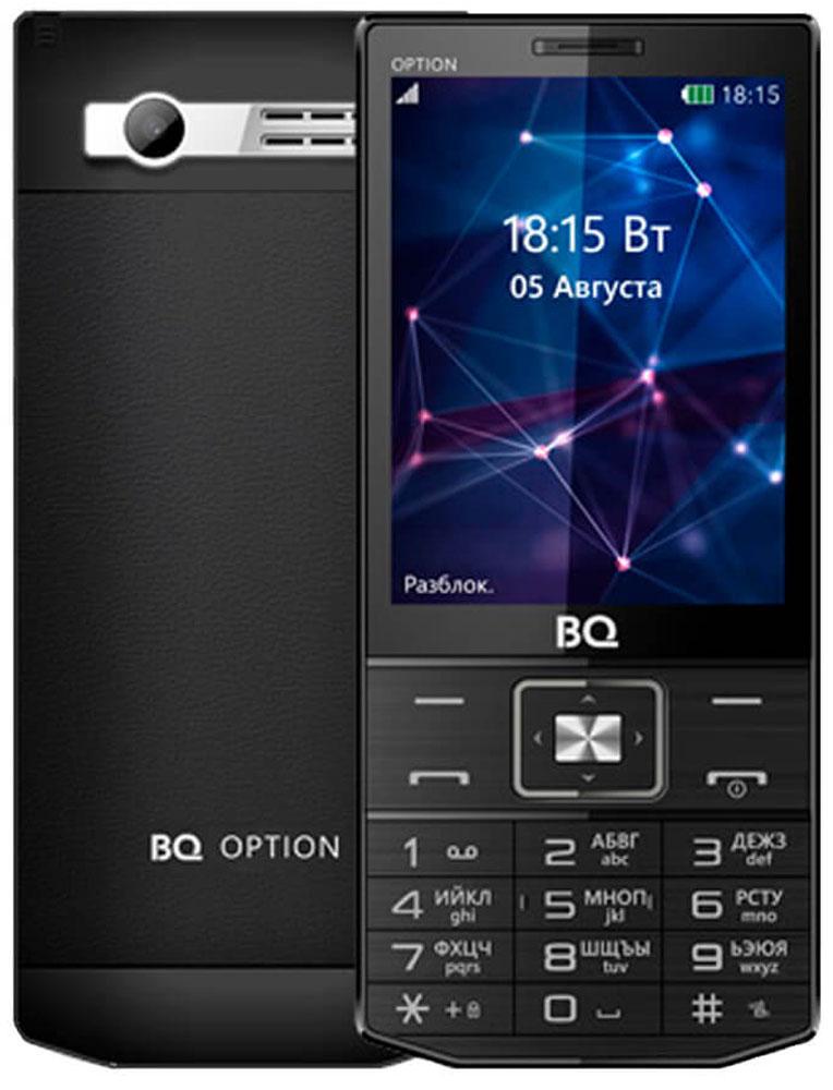 BQ 3201 Option, Black - Мобильные телефоны
