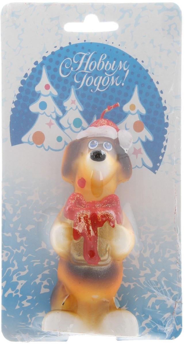 Свеча декоративная Омский свечной завод Собака с подарком, цвет: голубой, высота 8,5 см2563624Какой новогодний стол без свечей? Вместе с мандаринами, шампанским и еловыми ветвями они создадут сказочную атмосферу, а их притягательное пламя подарит ощущение уюта и тепла.А еще это отличная идея для подарка! Оградит от невзгод и поможет во всех начинаниях в будущем году.Пусть удача сопутствует вам и вашим близким!Каждому хозяину периодически приходит мысль обновить свою квартиру, сделать ремонт, перестановку или кардинально поменять внешний вид каждойкомнаты. Привлекательная деталь, которая поможет воплотить вашу интерьерную идею, создать неповторимую атмосферу в вашем доме. Окружите себя приятными мелочами, пусть они радуют глаз и дарят гармонию.Какой новогодний стол без свечей? Вместе с мандаринами, шампанским и еловыми ветвями они создадут сказочную атмосферу, а их притягательное пламя подарит ощущение уюта и тепла.А еще это отличная идея для подарка! Оградит от невзгод и поможет во всех начинаниях в будущем году.Пусть удача сопутствует вам и вашим близким!Невозможно представить нашу жизнь без праздников! Мы всегда ждем их и предвкушаем, обдумываем, как проведем памятный день, тщательно выбираем подарки и аксессуары, ведь именно они создают и поддерживают торжественный настрой - это отличный выбор, который привнесет атмосферу праздника в ваш дом!