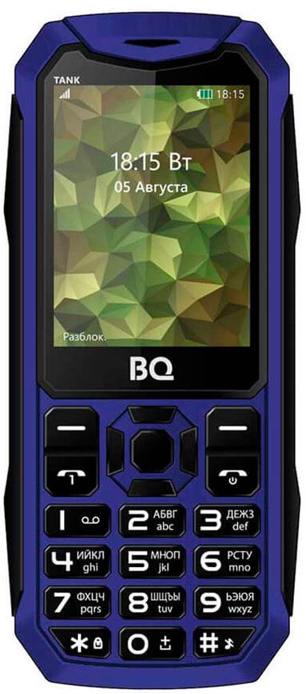 BQ 2428 Tank, Blue85953767Мобильный телефон BQ 2428 Tank это не только привычная звонилка, но и устройство, которое станет помощником в повседневной жизни. Если появилась необходимость срочно сфотографировать документы, используйте встроенную камеру . Слушайте любимые радиостанции с помощью встроенного FM-радио приемника. В телефоне присутствует модуль Bluetooth для оперативной передачи файлов. Диагональ дисплея 2,4 дюйма позволяет с комфортом просматривать необходимый мультимедийный контент.