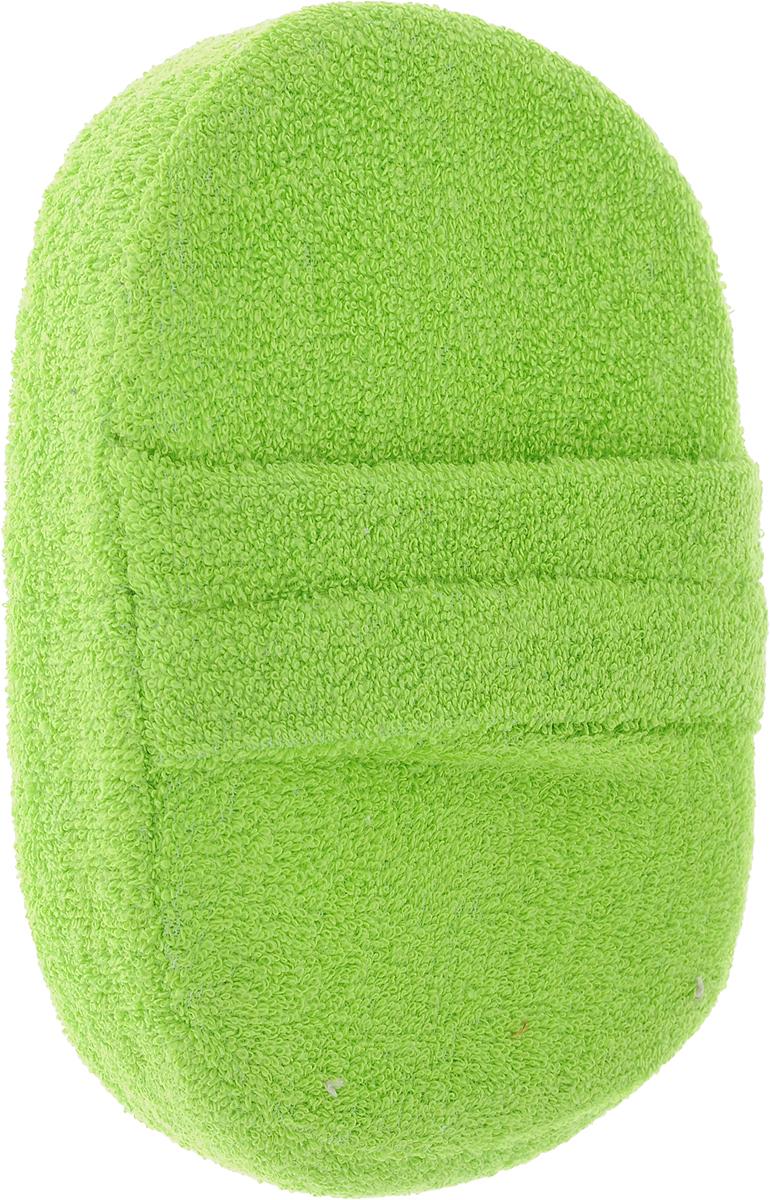 Мочалка объемная Eva Овал, цвет: салатовый, 10 х 15 х 4 смМ142_салатовыйОбъемная мочалка Eva Овал, выполненная из волокон льна и люфы, обладает бактерицидными свойствами. Хорошо пенится. Мочалка с мягким уровнем жесткости обладает эффектом деликатного массажа, который обеспечивает бережный уход за чувствительной кожей. Тонизирует, массирует, очищает. Не вызывает аллергии. Размер мочалки: 10 х 15 х 4 см. Уровень жесткости: мягкий.