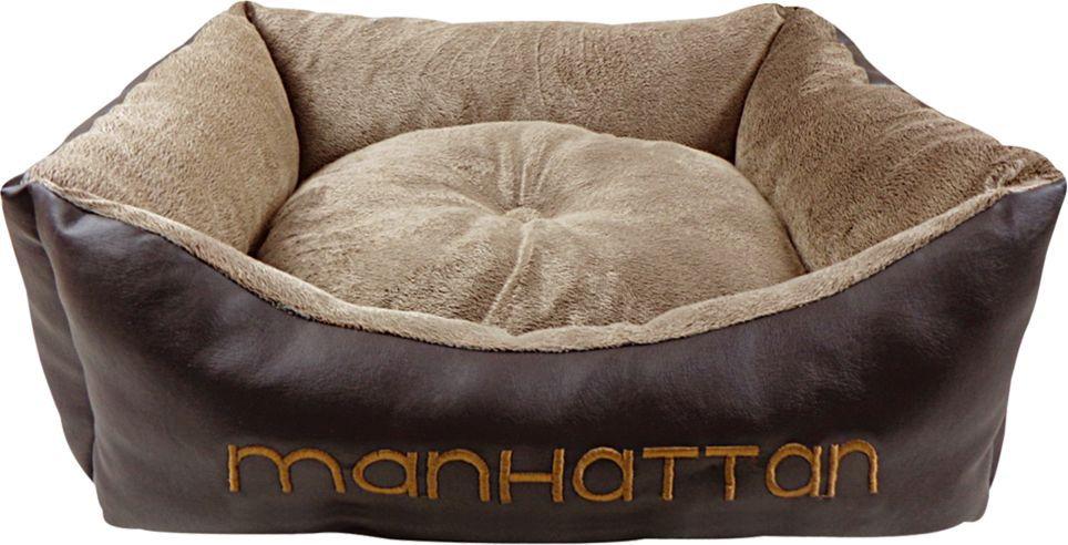 Лежак для животных Fauna Manhatten, 60 х 50 х 15 см. FIDB-1003FIDB-1003Лежак для животных Fauna обязательно понравится вашему питомцу. Лежака выполнен из нежного коричневого меха и искусственной кожи.Такой лежак прекрасно впишется в любой современный интерьер.