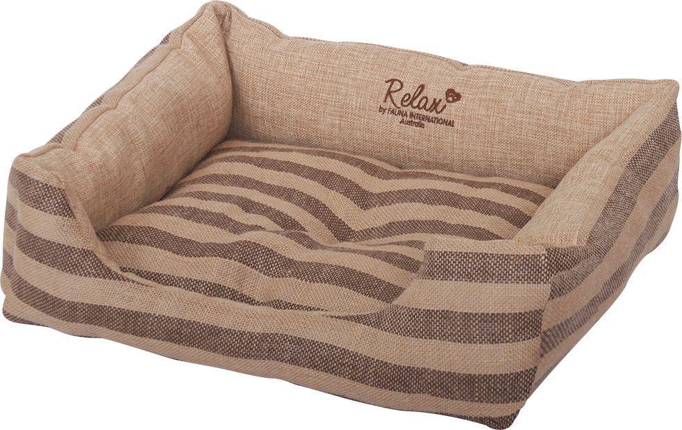 Лежак для собак и кошек Fauna Agata, 60 х 50 х 16 см. FIDB-0213/9213FIDB-0213/9213Лежак бежевого цвета из износостойкого полиэстера.