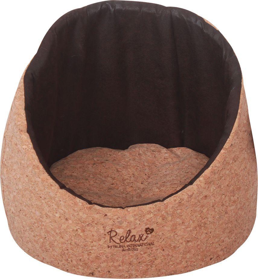 Лежак для животных Fauna Tia, 40 х 40 х 36 см. FIDB-0219/9219FIDB-0219/9219Лежак для животных Fauna обязательно понравится вашему питомцу. Лежак выполнен из пробкового полотна. Пробковое полотно - искусственный материал, имитирующий натуральную пробку. Гигиеничен, легко чистится, не накапливает пыли. Такой лежакпрекрасно впишется в любой современный интерьер.