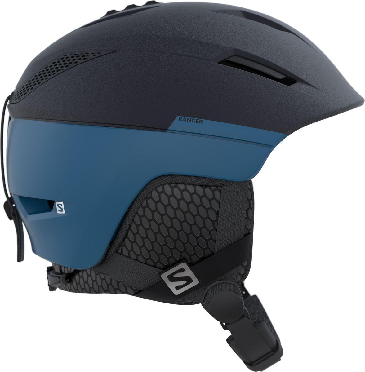 Шлем зимний Salomon Ranger2 Ombre Blue/Hawaiian Su. Размер L (59/62)L39912900Форма этого классического шлема all mountain обновлена, но компактный профиль, который сделал его бестселлером, сохранен. Плюс технология Salomon премиум-уровня EPS 4D для повышения степени защиты - шлем для трассового катания понравится каждому.
