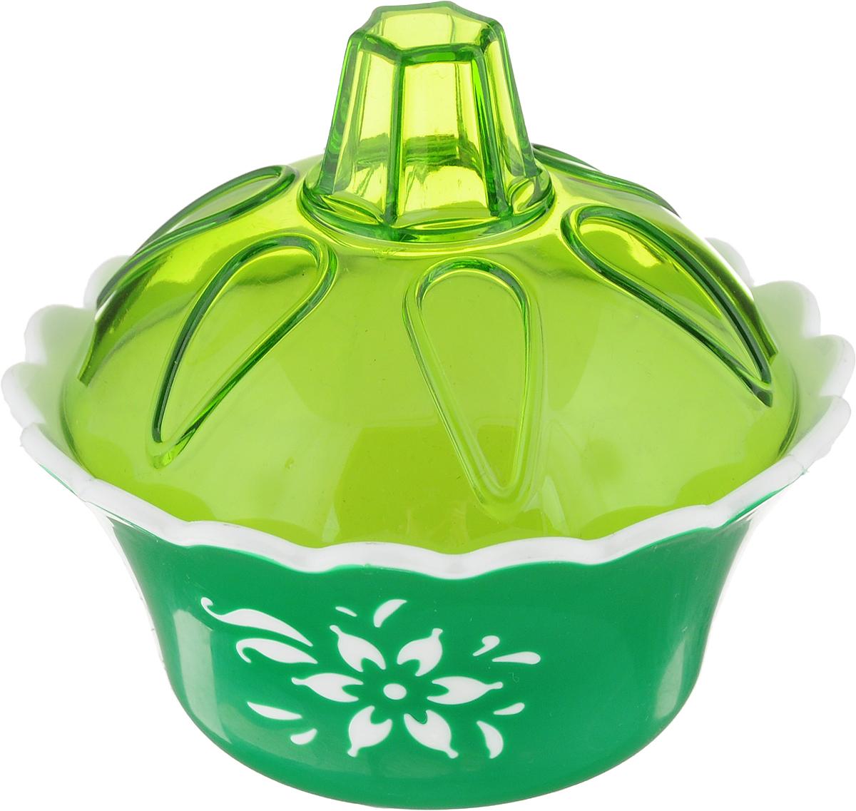 Емкость для варенья Альтернатива Премьера, с крышкой, цвет: зеленый, белый, салатовый, 200 млМ2215_зеленый, белый, салатовыйЕмкость Альтернатива Премьера, изготовленная из прочного пищевого пластика, оснащенакрышкой. Внешние стенки емкости оформлены цветочным рисунком. Изделие прекрасноподойдет для хранения варенья или меда. Такая емкость придется по вкусу любителямклассического стиля. Изящная форма и яркий дизайн сделают ее украшением вашего кухонного стола.Диаметр емкости (по верхнему краю): 10,5 см. Высота емкости (без учета крышки): 5 см.