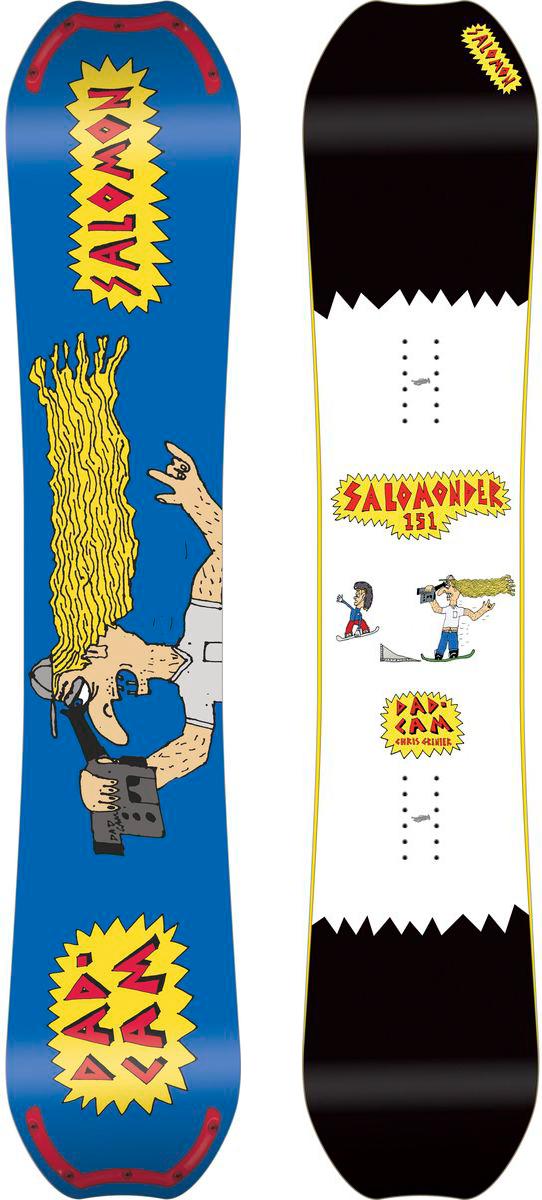 Сноуборд Salomon Salomonder, 151 см. L39924400L39924400Сноуборд Salomon Salomonder сочетает в себе самые прогрессивные конструкции для паудера и фристайла: ABC Green Roll и Popster Eco Booster, боковой вырез EQ Rad и профиль Rock Out Camber. С таким арсеналом Rumble Fish готов сокрушить что угодно.