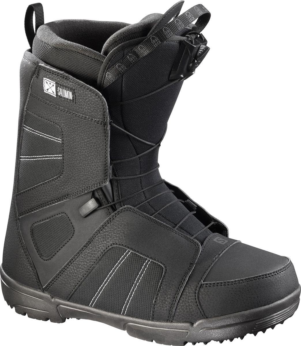 """Ботинки для сноуборда Salomon """"Titan"""", цвет: черный. Размер 29,5 (45)"""