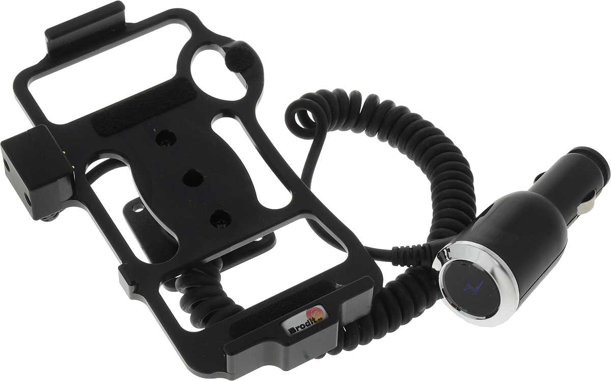 Комплект крепежный центральный  Brodit , для Land Rover Discovery 3 05-09, цвет: черный - Автомобильные держатели