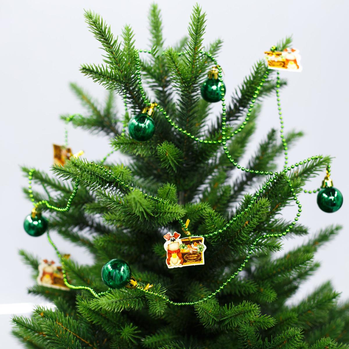 Гирлянда на елку С Новым годом, сундук, длина 2 м2301777Как приятно преображать жилище в преддверии долгожданного торжества! Декором можно не только оформить елку, но и украсить шкаф или стену.