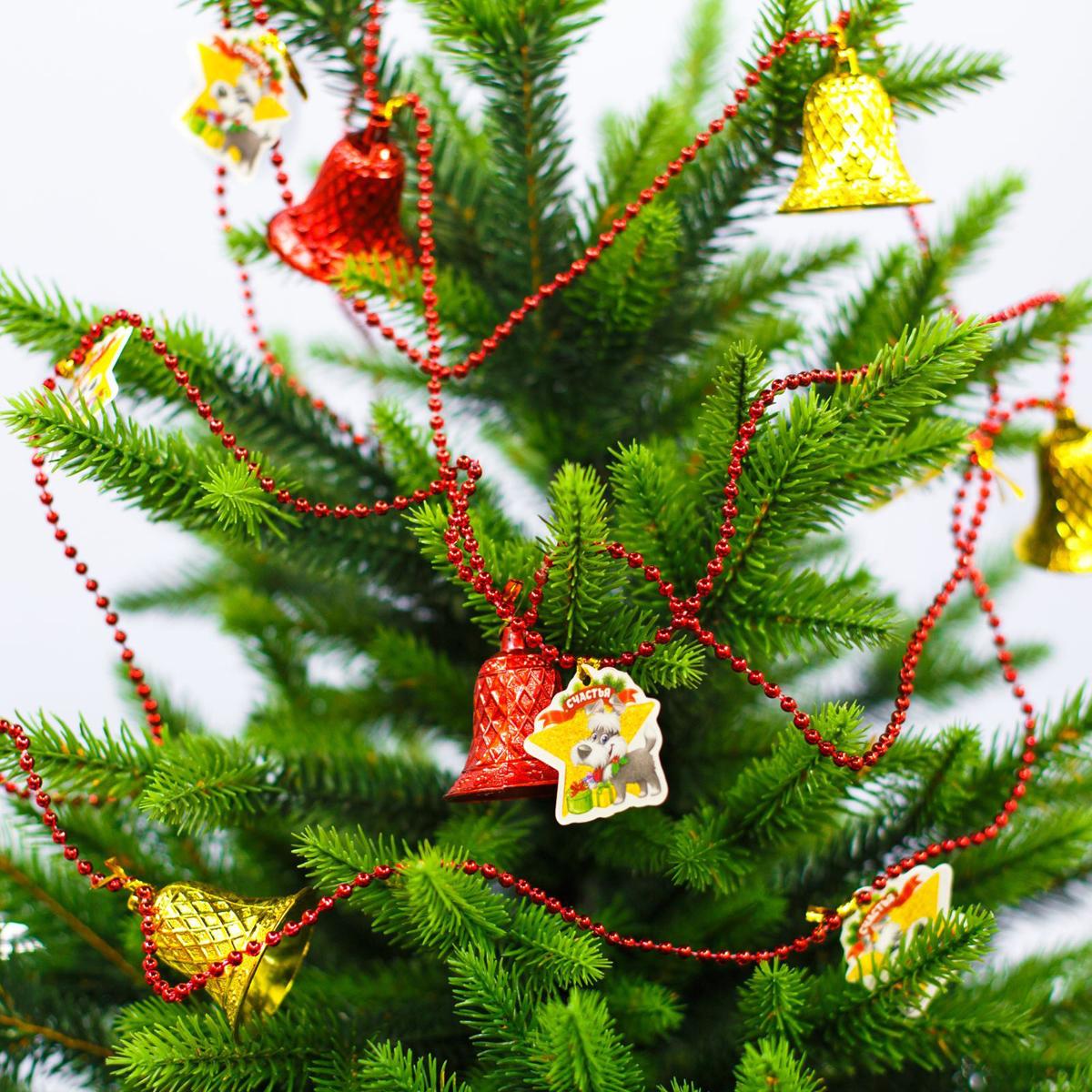 Гирлянда новогодняя Счастья, длина 2 м2301775Как приятно преображать жилище в преддверии долгожданного торжества! Декором можно не только оформить елку, но и украсить шкаф или стену.