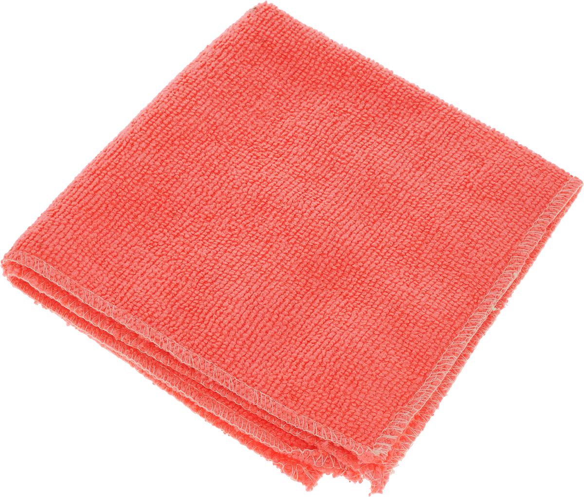 Салфетка автомобильная EvaAuto, универсальная, цвет: коралловый, 30 х 30 смТ08_коралловыйУниверсальная автомобильная салфетка EvaAuto, выполненная из микрофибры, идеально подходит для уборки. В сухом виде применяется для вытирания пыли и легких загрязнений, во влажном - для удаления загрязнений с любых поверхностей без применения моющих средств. Не оставляет разводов и ворсинок, полностью впитывает влагу. Сохраняет эффект даже после многократных стирок.