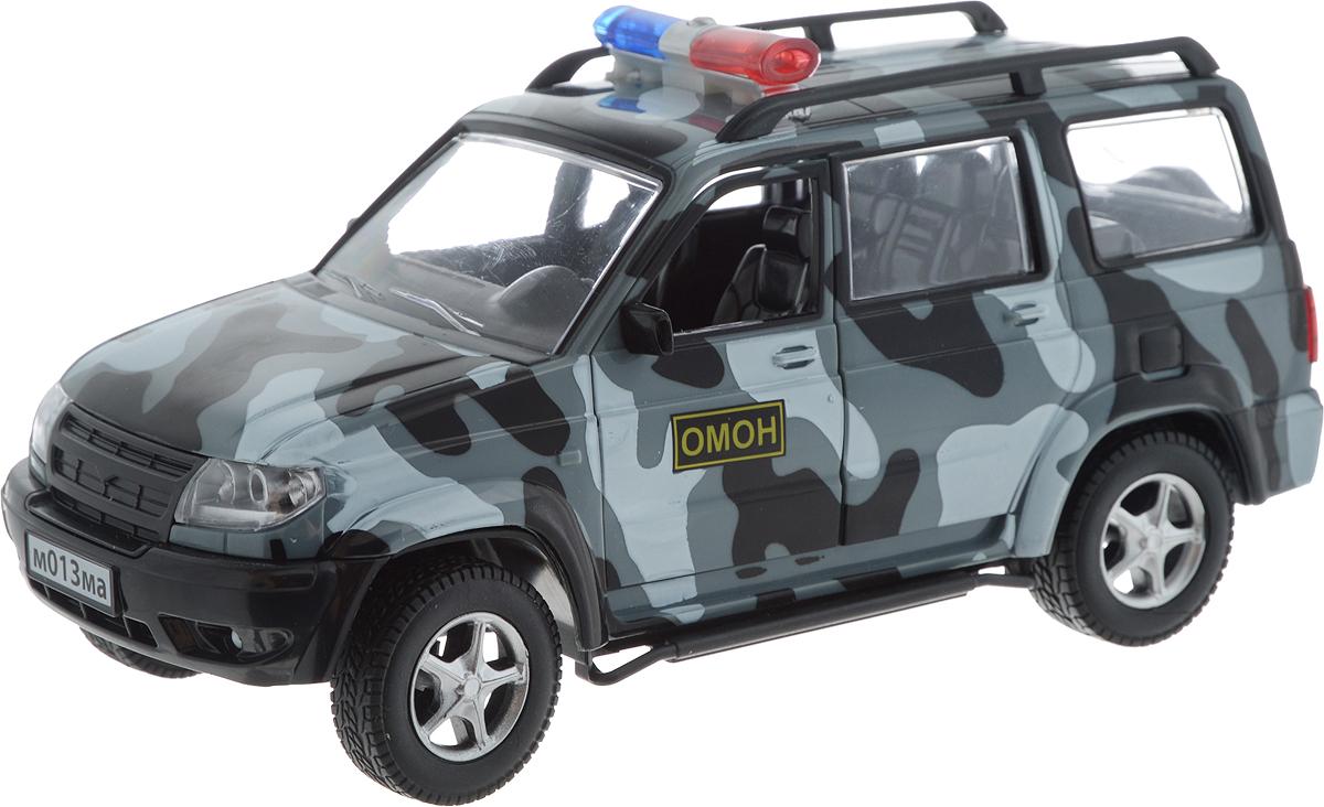 ТехноПарк Модель автомобиля UAZ Patriot ОМОН машинки autotime машина uaz patriot прокуратура