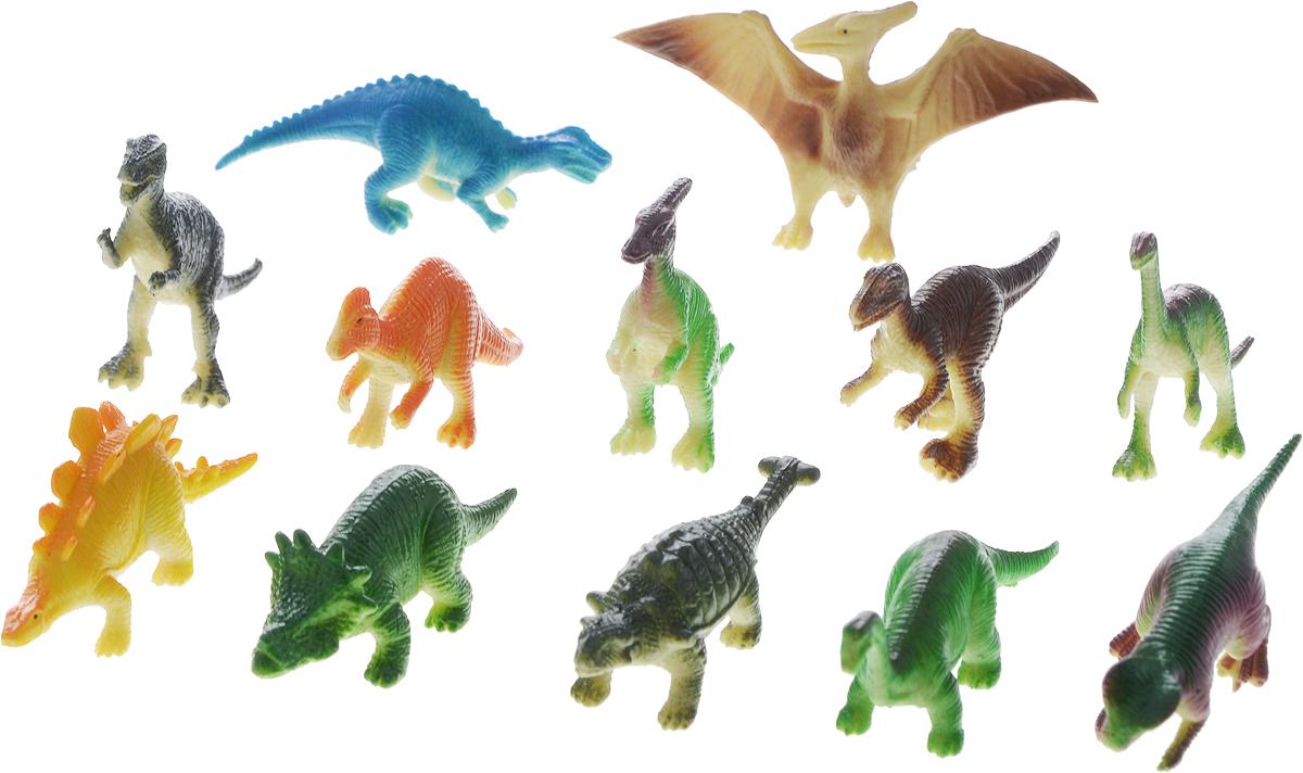 Играем вместе Набор фигурок Динозавры 12 шт HB9613-12