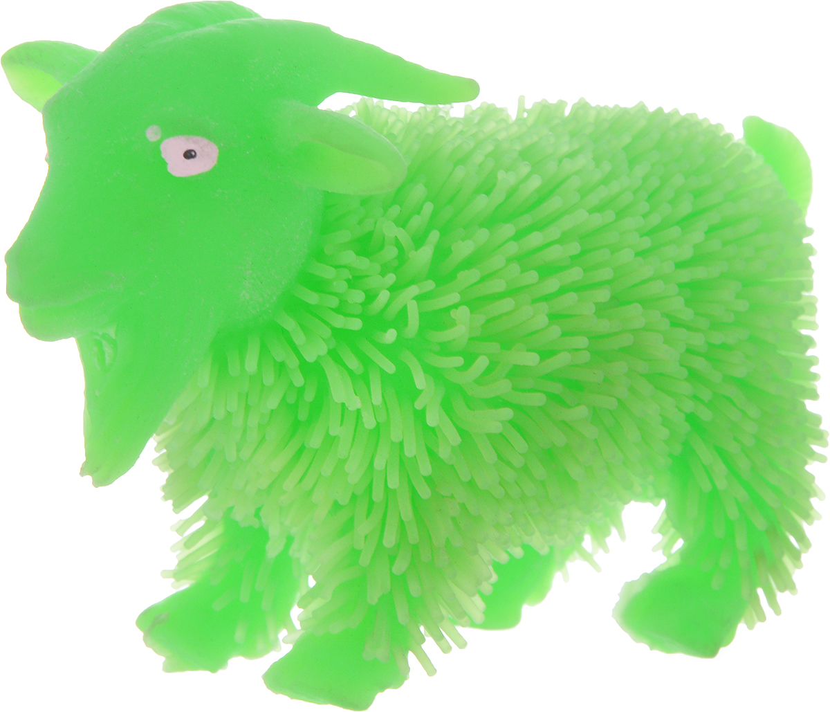1TOY Антистрессовая игрушка Нью-Ёжики Козел цвет зеленый 1toy игрушка антистресс ё ёжик животное цвет бежевый