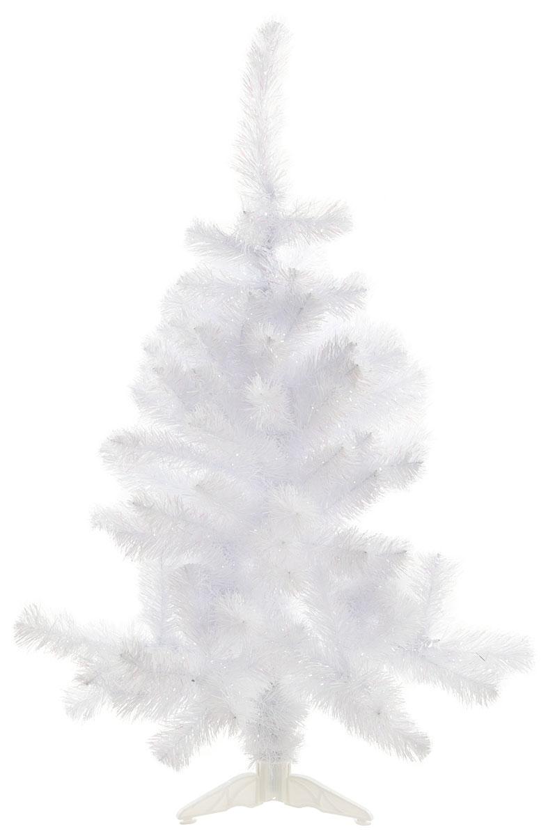 """Ель искусственная Morozco """"Радужная"""", цвет: белый перламутр, высота 120 см"""