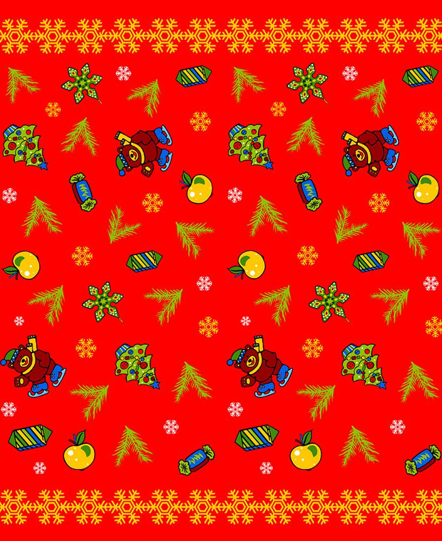 Скатерть Мультидом Новогодние шары, цвет: красный, 148 х 225 смBD2-36Предназначена для защиты поверхности стола и украшения интерьера. Изготовлена из 100% полиэстера с водоотталкивающей пропиткой, предохраняющей скатерть от возникновения пятен от соусов, вина, кофе. Легко стирается. Стирать в соответствии с рекомендациями на этикетке.