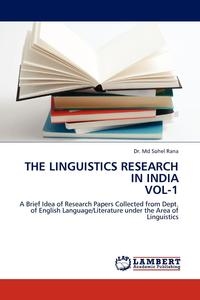 The Linguistics Research in India Vol-1 sociobiogenetic linguistics