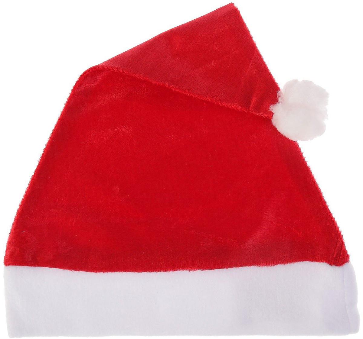 Колпак новогодний Блеск, цвет: красный, 28 х 38 см2351990Колпак - традиционный новогодний головной убор, который дополнит любой праздничный костюм. Будет это корпоративная вечеринка, утренник в школе или отдых в компании друзей - изделие поднимет настроение, где бы вы ни находились.Колпачок подойдет тем, кто собирается отмечать зимний праздник в помещении. В противном случае его следует надеть на теплую шапку, чтобы не простудиться.