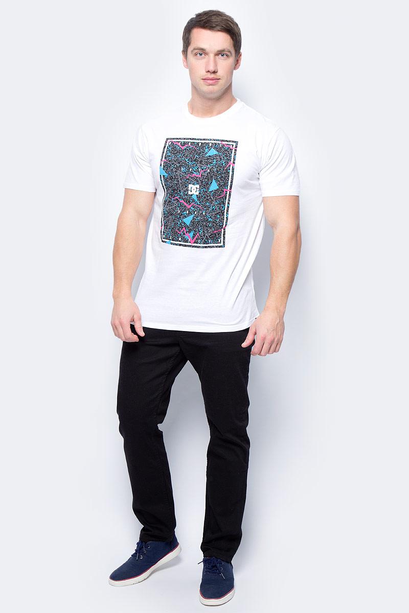 Футболка мужская DC Shoes, цвет: белый. EDYZT03572-WBB0. Размер XXL (56) футболка мужская quiksilver цвет белый eqyzt04285 wbb0 размер xxl 56
