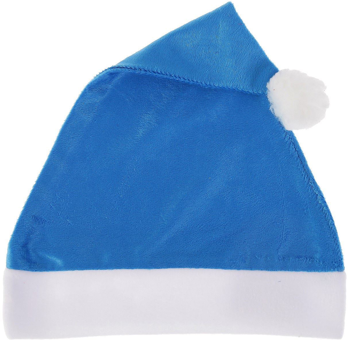 Колпак новогодний Блеск, цвет: синий, 28 х 38 см2351993Колпак - традиционный новогодний головной убор, который дополнит любой праздничный костюм. Будет это корпоративная вечеринка, утренник в школе или отдых в компании друзей - изделие поднимет настроение, где бы вы ни находились.Колпачок подойдет тем, кто собирается отмечать зимний праздник в помещении. В противном случае его следует надеть на теплую шапку, чтобы не простудиться.