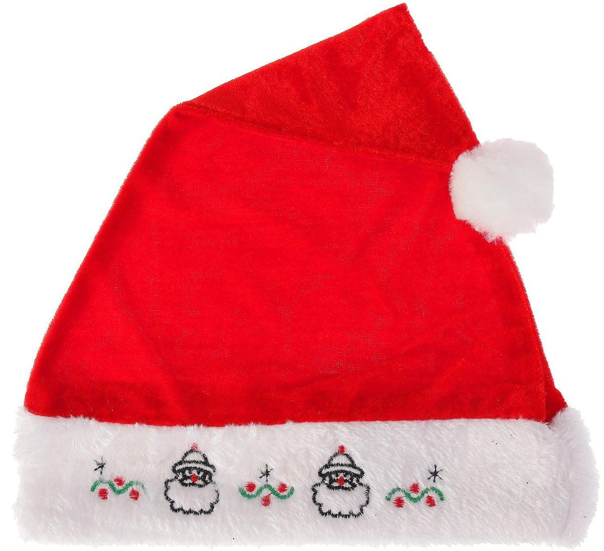 Колпак новогодний Деды Морозики, 28 х 38 см2351995Невозможно представить нашу жизнь без праздников! Мы всегда ждем их и предвкушаем, обдумываем, как проведем памятный день, тщательно выбираем подарки и аксессуары, ведь именно они создают и поддерживают торжественный настрой. Это отличный выбор, который привнесет атмосферу праздника в ваш дом!