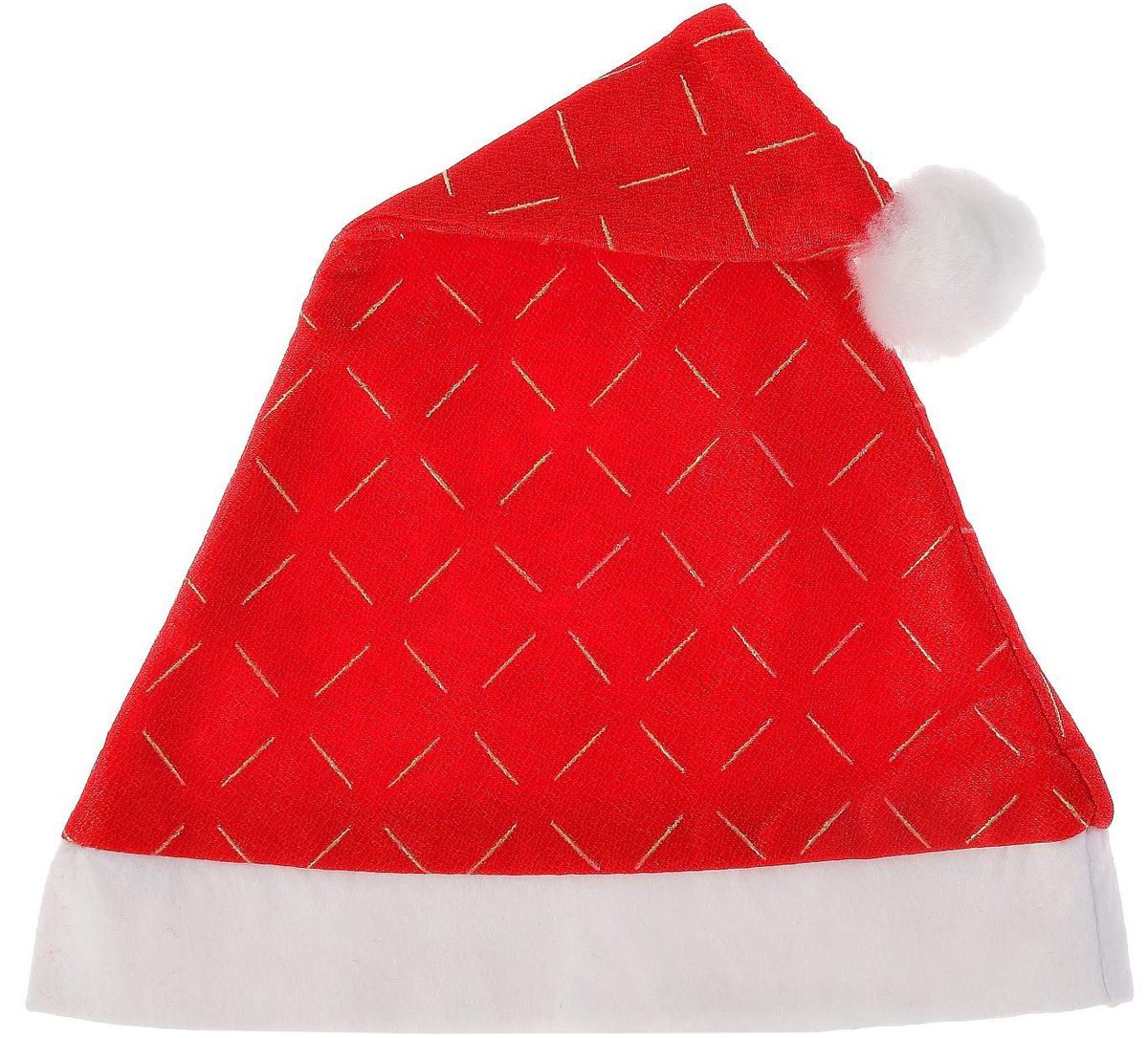 Колпак новогодний Золотые штрихи, 28 х 40 см2352000Невозможно представить нашу жизнь без праздников! Мы всегда ждем их и предвкушаем, обдумываем, как проведем памятный день, тщательно выбираем подарки и аксессуары, ведь именно они создают и поддерживают торжественный настрой. Это отличный выбор, который привнесет атмосферу праздника в ваш дом!