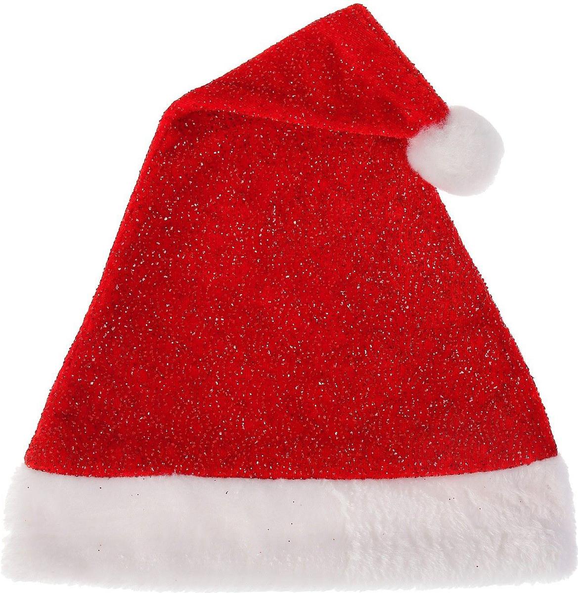 Колпак новогодний Красное мерцание, 28 х 40 см2352003Невозможно представить нашу жизнь без праздников! Мы всегда ждем их и предвкушаем, обдумываем, как проведем памятный день, тщательно выбираем подарки и аксессуары, ведь именно они создают и поддерживают торжественный настрой. Это отличный выбор, который привнесет атмосферу праздника в ваш дом!