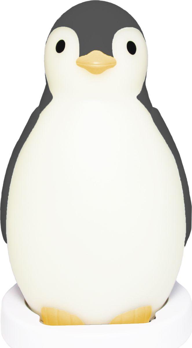 ZAZU Настольные часы детские 3 в 1 Пингвиненок Пэм цвет серый часы настольные
