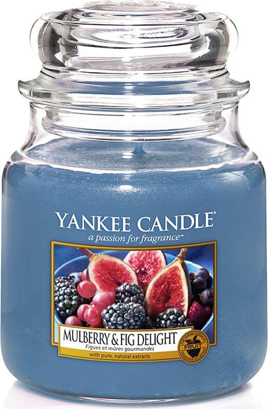 Свеча ароматизированная Yankee Candle Инжир и Ежевика, средняя, в стеклянной банке, 411 г1556246E65-90 часов горения. Фруктовая ваза наполненная сочными ежевикой и свежесобранным инжиром.Верхняя нота: Ежевика, Спелый Инжир, Лист МалиныСредняя нота: Красная Слива, Абрикос, Персик, ЕжевикаБазовая нота: Тонка, Ванильный Боб