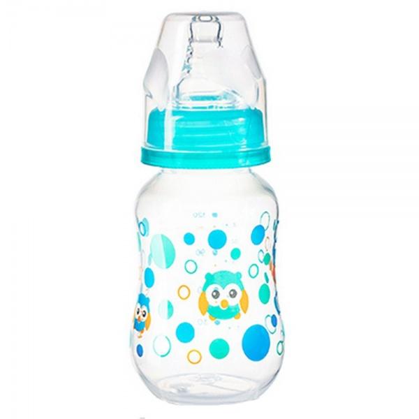 BabyOno Бутылочка антиколиковая от 0 месяцев цвет бирюзовый 120 мл