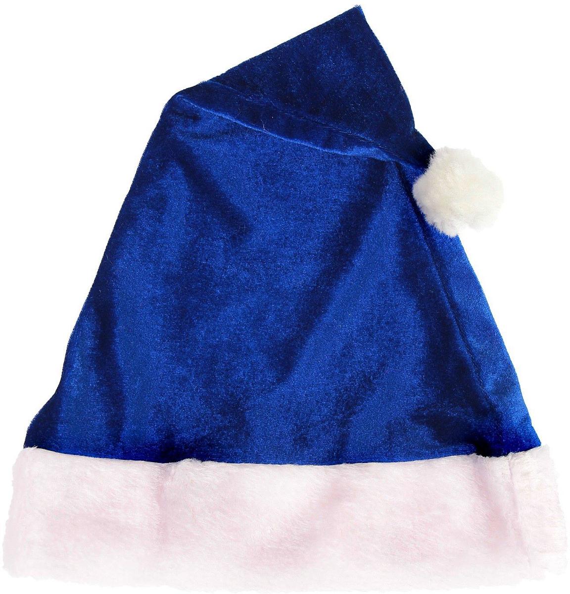 Колпак новогодний Мягкий, цвет: синий, 28 х 40 см2352009Невозможно представить нашу жизнь без праздников! Мы всегда ждем их и предвкушаем, обдумываем, как проведем памятный день, тщательно выбираем подарки и аксессуары, ведь именно они создают и поддерживают торжественный настрой. Это отличный выбор, который привнесет атмосферу праздника в ваш дом!